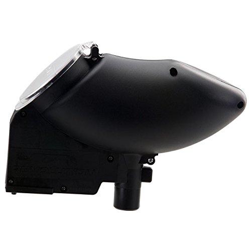 JT Revolution Paintball Loader Electronic Fed Hopper/ Holdsup to 180 Paintballs/ Black