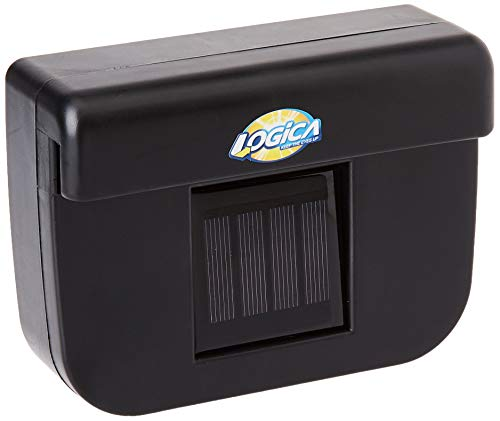LOGICA 1240694 Parking Cool - Ventilador Solar para Coche
