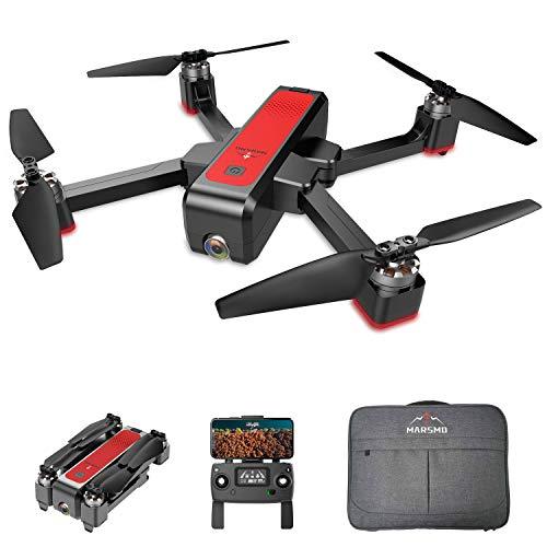 MARSMO Drone B4W WiFi FPV avec caméra Ajustable 2K Live 3 Modes de vol, Pliable FPV Quadcopter,...
