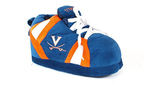 Comfy Feet VIR01-5 - Virginia Cavaliers - XX Large Mens and Womens NCAA Slippers