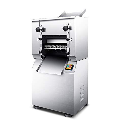 1500W Electric Commercial Pasta Maker Machine, Automatic Noodle Pasta Spaghetti Roller Pressing Machine for Spaghetti Fettuccini Lasagna Dumpling Skins CE Certified