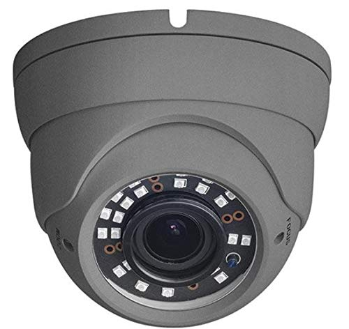 W Box 1MP HD Eyeball Dome Camera (Black)