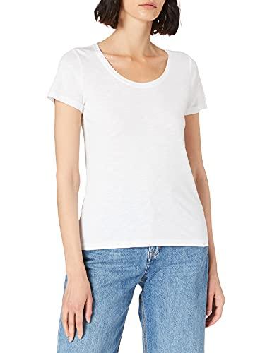 Street One Damen Gerda T-Shirt, White, 44