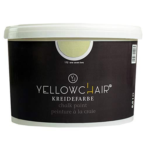 Kreidefarbe yellowchair No. 172 perlweiß ÖKO für Wände und Möbel 5 Liter