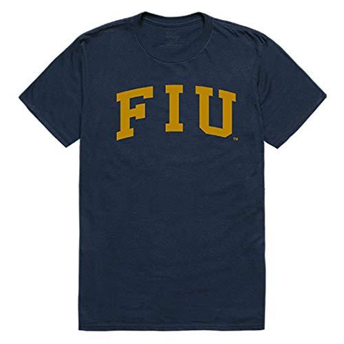 FIU Florida International University NCAA College T Shirt - Navy, Large