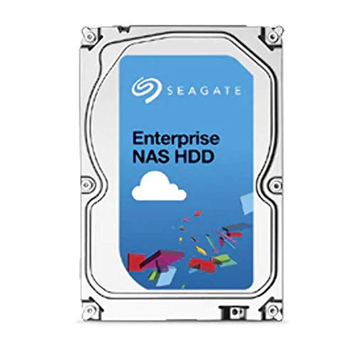 Seagate IronWolf 6 TB HDD, NAS interne Festplatte (8, 9 cm (3, 5 Zoll), 7200 U/Min, 256 MB Cache, SATA 6 Gb/s, silber) Modellnr.: ST6000VN001