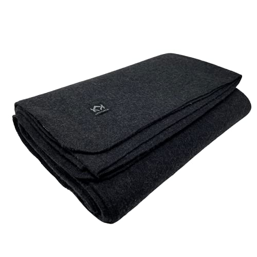 Arcturus Military Wool Blanket 4 5 lbs Warm Thick Washable Large 64 x 88