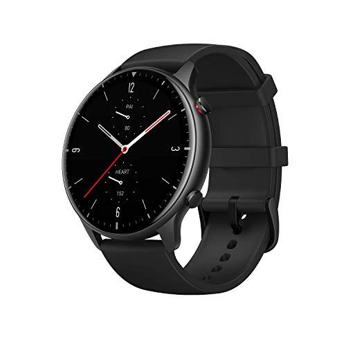 Amazfit GTR 2 Smartwatch mit Bluetooth-Anruf, Sportuhr mit 90 Sportmodi, Fitness Tracker mit Blutsauerstoffsättigungsmesser, 3 GB Musikspeicher für Herren Damen