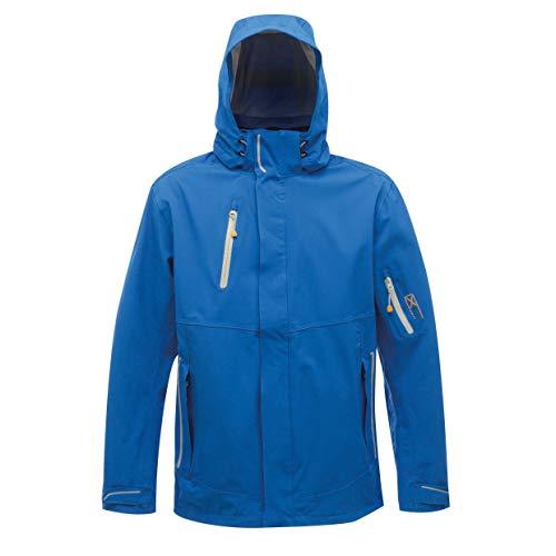 Regatta Veste à Capuche Homme Extensible Stretch, imperméable et Respirante X-Pro EXOSPHERE Jackets Waterproof Shell, Oxford Blue, FR : 3XL (Taille Fabricant : XXXL)