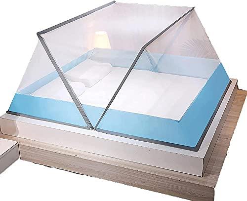 QPP-CL Mosquitera portátil, Cama Plegable de Mosquitos de Mosquitos de mosquitera con Cama Plegable en la Cama Cama de bebé-135 * 190cm