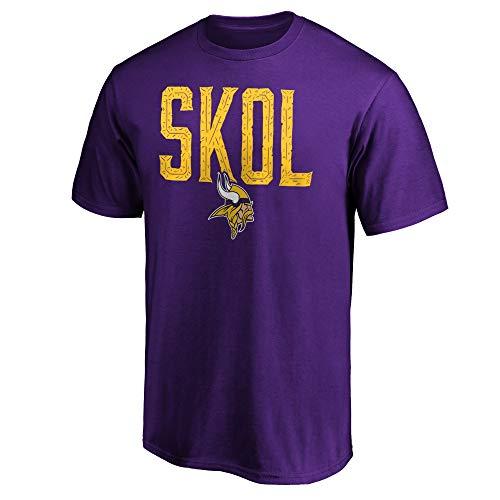 Fanatics NFL T-Shirt Minnesota Vikings Hometown SKOL Football Shirt (XXL)