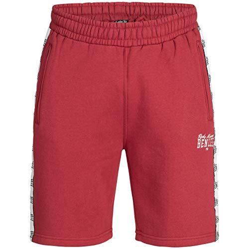 Benlee Herren Sweatshorts Bostwick, Größe:L, Farbe:Dark red