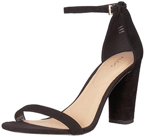 ALDO Women's Myly Heeled Sandal, Teal, 8 B US
