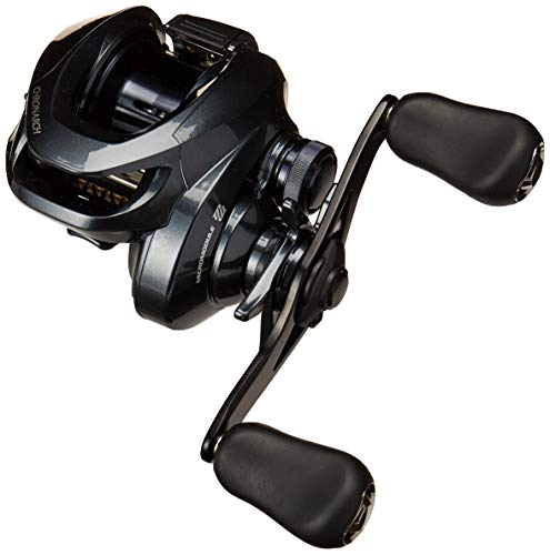 Shimano Chronarch G SW Baitcasting Fishing Reel, 7.1:1, Right-Handed,Black,CH150HGG