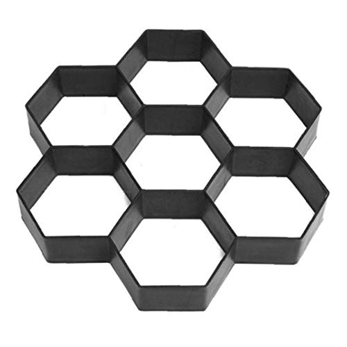 11,5 X 11,5 Zoll-pfad-Hersteller-Form Pflaster Pavement Betonform Stepping Stone Paver Weg Maker