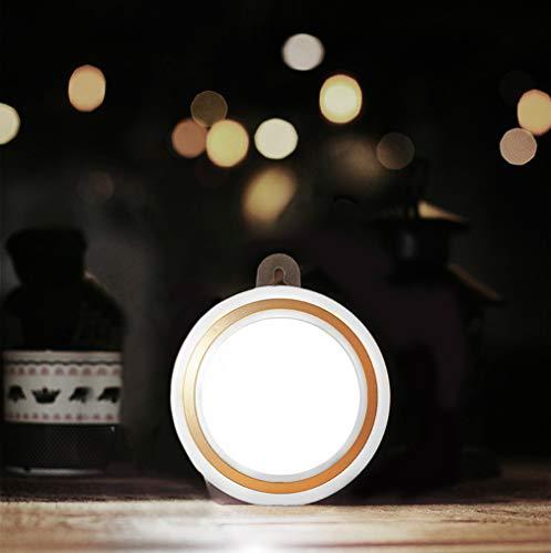 APRITECH® Luz De Noche Night Light Lámpara Nocturna con Sensor Activo Luz Lampara Nocturna Cálida para Armario, Pasillo, Escalera, Sótano (2)