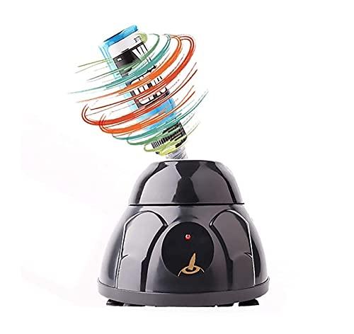 XiuLi Mezclador de Laboratorio, Mezclador de salón con agitador de vórtice, para Tinta de Tatuaje, Esmalte de uñas, Pegatinas, Pinturas, pigmentos de Maquillaje Permanente (Color : Black)