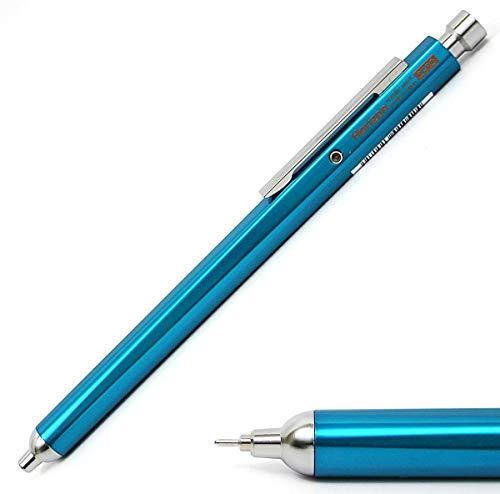 Ohto Horizon Aluminum Hexagon Barrel Needlepoint Ballpoint Pen NBP-707H, Blue