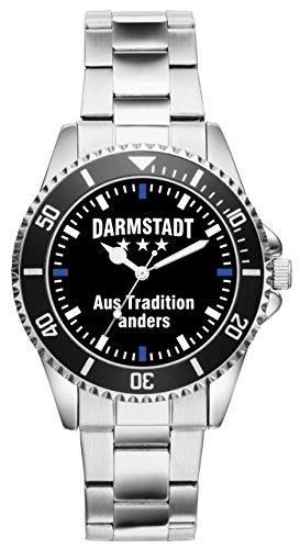 Darmstadt Geschenk Artikel Idee Fan Uhr 2364
