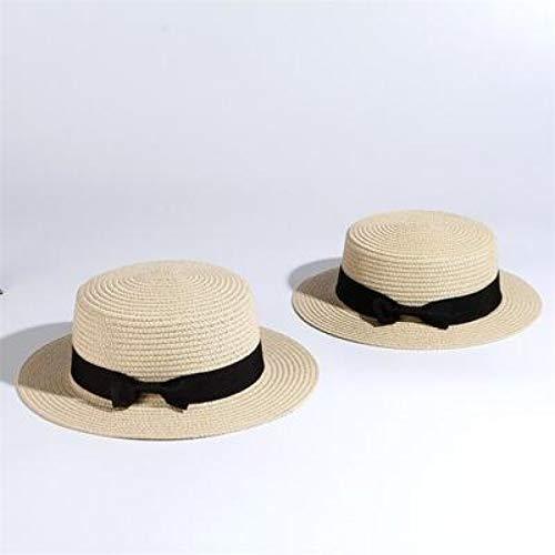 Sombrero de paja Sombrero De Paja Sombrero De Sol Para Padres EHijosMujeres...