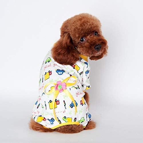 wSelio Soft and Warm Dog Hoodie Hole Regular dealer Max 71% OFF Leash Sweater Pock with