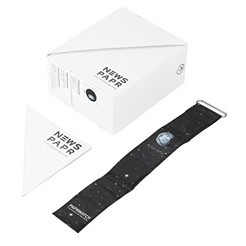 Funnyrunstore Personalisierte Papier Uhr Leben Wasserdicht Papierband Magnetverschluss Schnalle Ultra Light LED Digitaluhr für Männer Frauen (Stil: # 10)