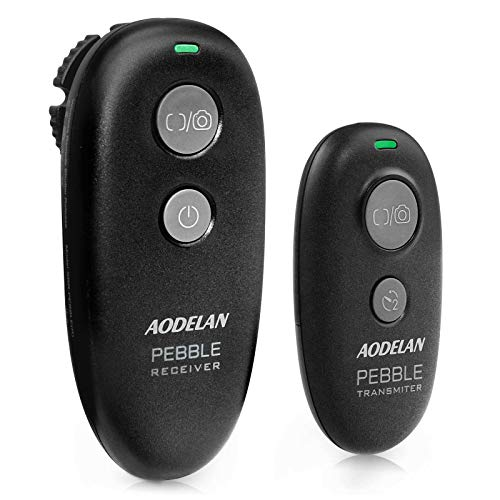 Wireless Remote Control Shutter Release for Canon EOS RP, 5D Mark II, 5D Mark III, 6D Mark II, 6d, 7D Series; for Fujifilm GFX 50R, X-T3, X-T2; for Olympus OM-D E-M1 Mark II