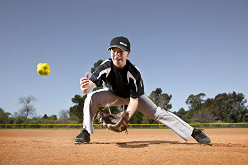 SKLZ Reaction Ball. Field Training Ball and Agility Trainer for Baseball and Diamond Sports.