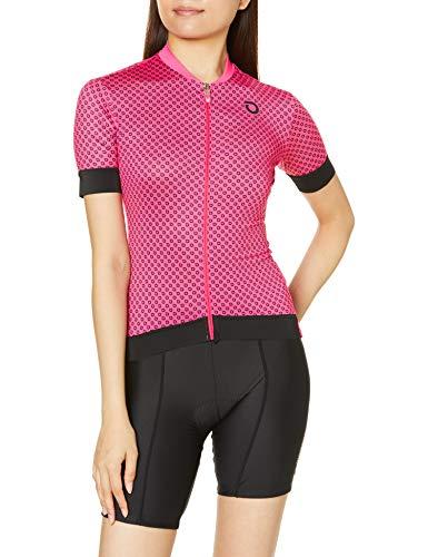 Briko Ultralight Lady Jersey Maillot Ciclismo Mujer, Mujer, Fuchsia Bright Rose, S