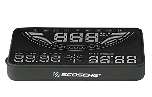 """Scosche HUD58OGC 5.8"""" Heads-up Multi-Color LED Display for Any..."""