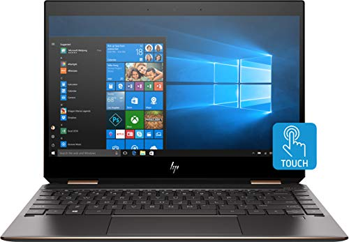 HP Spectre x360 13-ap0013dx Convertible 13.3' Full HD Touchscreen Laptop, Intel Core i7-8565U 1.8GHz, 8GB RAM, 256GB SSD, Windows 10 Home, Ash Silver - Refurbished by HP