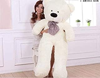 COOLBABY Teddy Bear for Children and Birthday Day Gift 160CM (White)