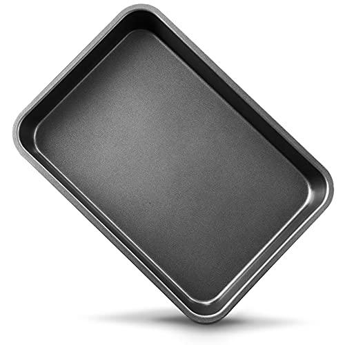 OJelay 9x13 Baking Pan | Nonstick Carbon Steel Deep Dish Rectangular Cake Pan For Lasagna, Turkey, Grill, Brownie