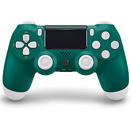 PS4 Controller Wireless Bluetooth Gamepad with Double Vibration/LED Touch Pad/Speaker/Gyro/Share Button, High-Sensitive with Anti-Slip, Ergonomic Design, Controller Gamepad Remote for PS4 Slim/ Pro