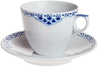 ROYAL COPENHAGEN (ロイヤル コペンハーゲン) プリンセス コーヒーカップ&ソーサー 104-071 [並行輸入品]