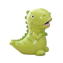 2. WAIT FLY Lovely Green Dinosaur Piggy Bank