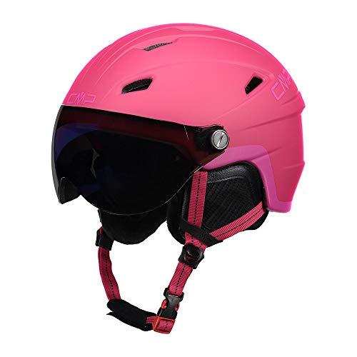 Cmp Casco Da Sci E Snowboard Wy-2, Unisex Bambini, Strawberry, S, Strawberry