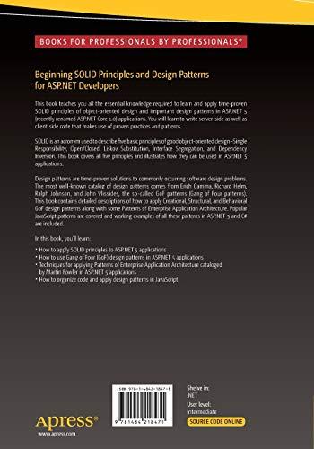 Beginning SOLID Principles and Design Patterns for ASP.NET Developers