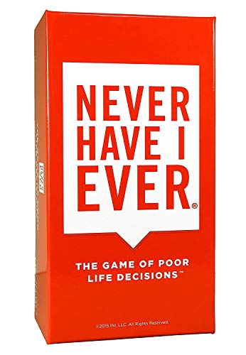 INI, LLC Never Have I Ever: The Game of Poor Life Decisions Jeu de Cartes