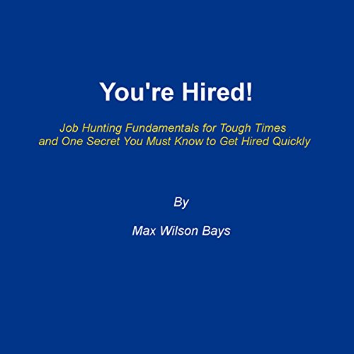 You're Hired! cover art