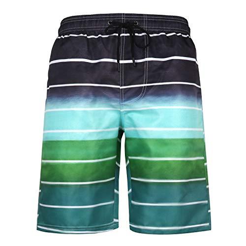 URVIP Herren Badeshorts Badehose in vielen Farben |Badeshort| Bermuda Shorts |Schwimmhose |Badehosen |Badehose für Männer in den Größen S bis 6XL L-15768 XXL