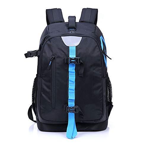 Estuche para cámara de mochila de viaje al aire libre, cámara de nylon antirrobo Bolsa para mochila con funda impermeable para réflex digital, cámara sin espejo, flash o accesorios ( Color : Azul )