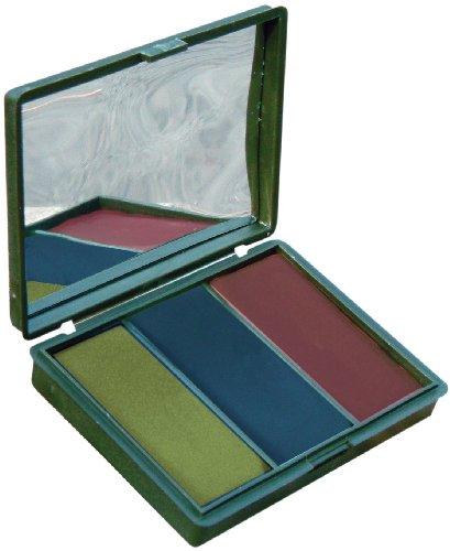 Bushcraft BCB - Juego de Maquillaje para Camuflaje, Color Verde, Negro y marrón