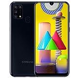 Samsung Galaxy M31 - Smartphone Dual SIM, Pantalla de 6.4' sAMOLED FHD+, Cámara 64 MP, 6 GB RAM, 64 GB ROM Ampliables, Batería 6000 mAh, Android, Versión Española, Color Negro