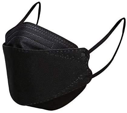 Binghai Pack de 50 unidades, 4_Fàce M,sk.for Adultos Protección de MTU y NA,4-Ply Filtеr Fàce Proteccion Negro