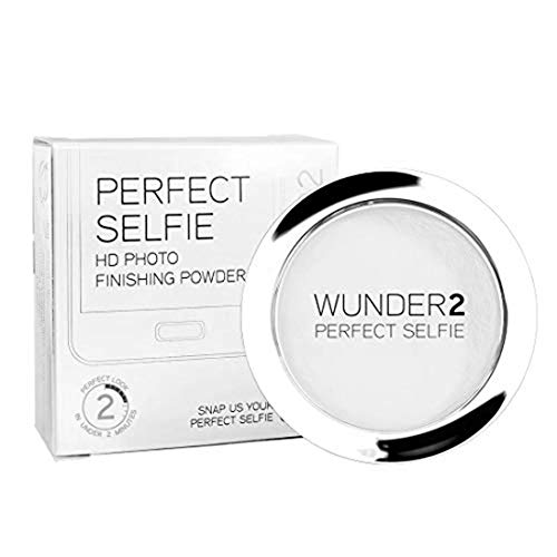 WUNDER2 Perfect Selfie Hd Photo Finishing Powder Perfect Selfie - Mattierendes Kosmetik Puder Transparent Gesichtspuder Farbe: Translucent