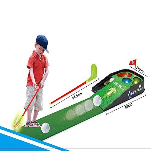 Golfclub voor kinderen Golf Practice Stelt Speelgoed Sport Vaderdag Boy Toy voor Indoor Outdoor (Color : As picture, Size : One size)