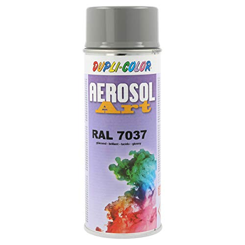 Dupli-Color 221200 Aerosol Art Ral 7037 glänzend 400 ml