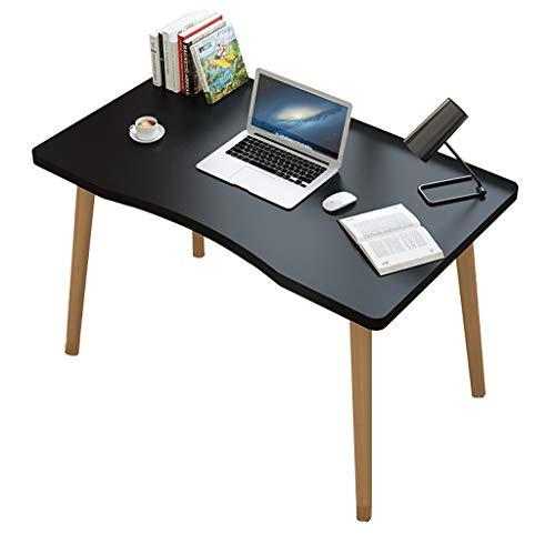ZWJLIZI Escritorio, Mesa de Ordenador en casa Negro/Escritorio, Mesa de Aprendizaje for niños, tocador for el Dormitorio, Estilo escandinavo (Size : 80X50X73CM)