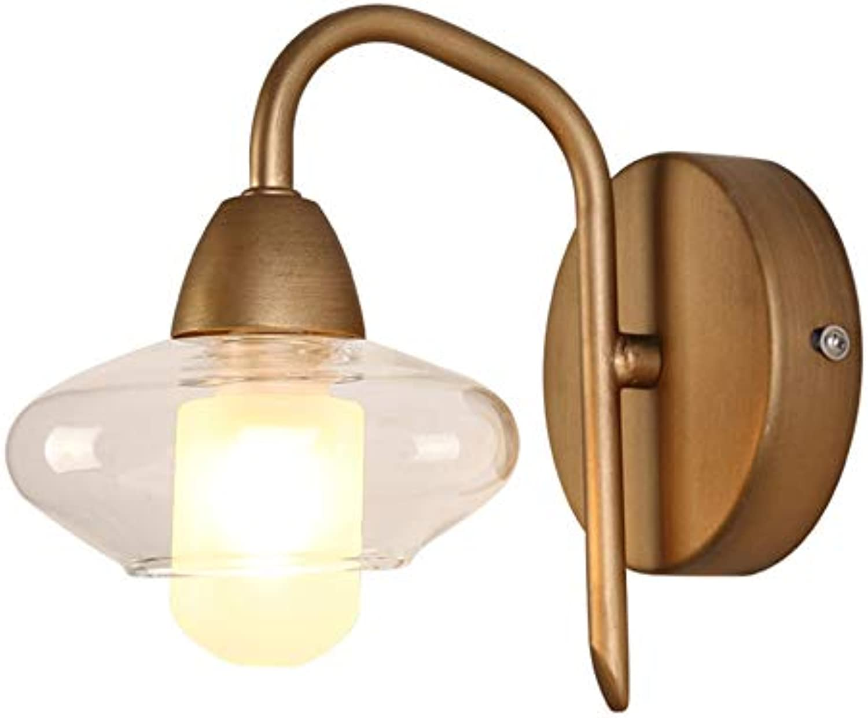 Vintage Metall glaskugel wandleuchte LED LED LED G9 1 ...